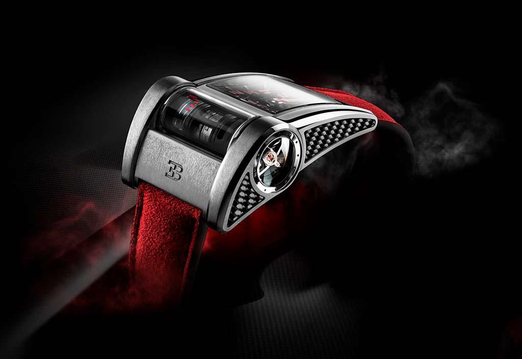Часы в честь Bugatti Chiron Sport от Parmigiani Fleeurier