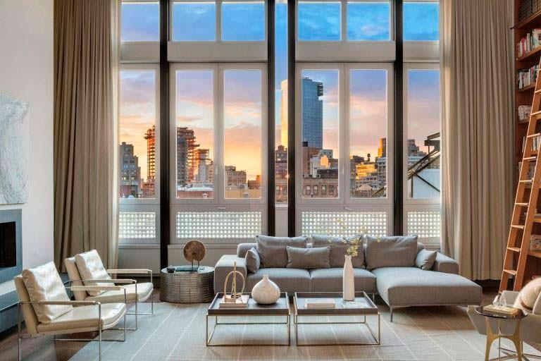 Квартира в Нью-Йорке Майка Майерса
