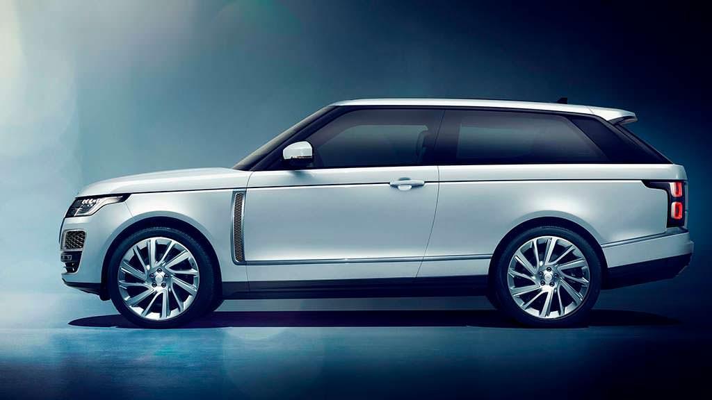 Трехдверный Range Rover SV Coupe