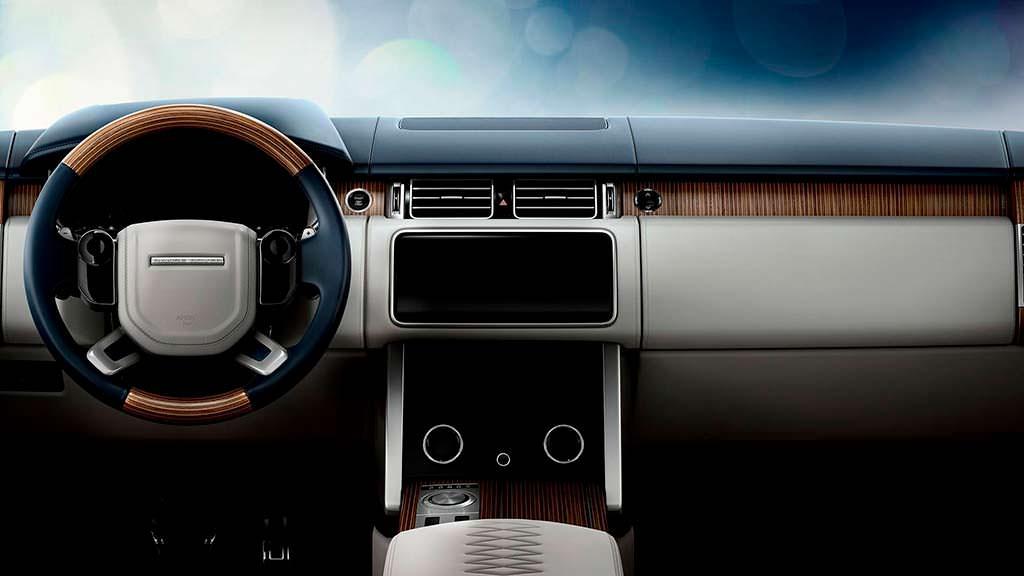 Фото салона Range Rover SV Coupe