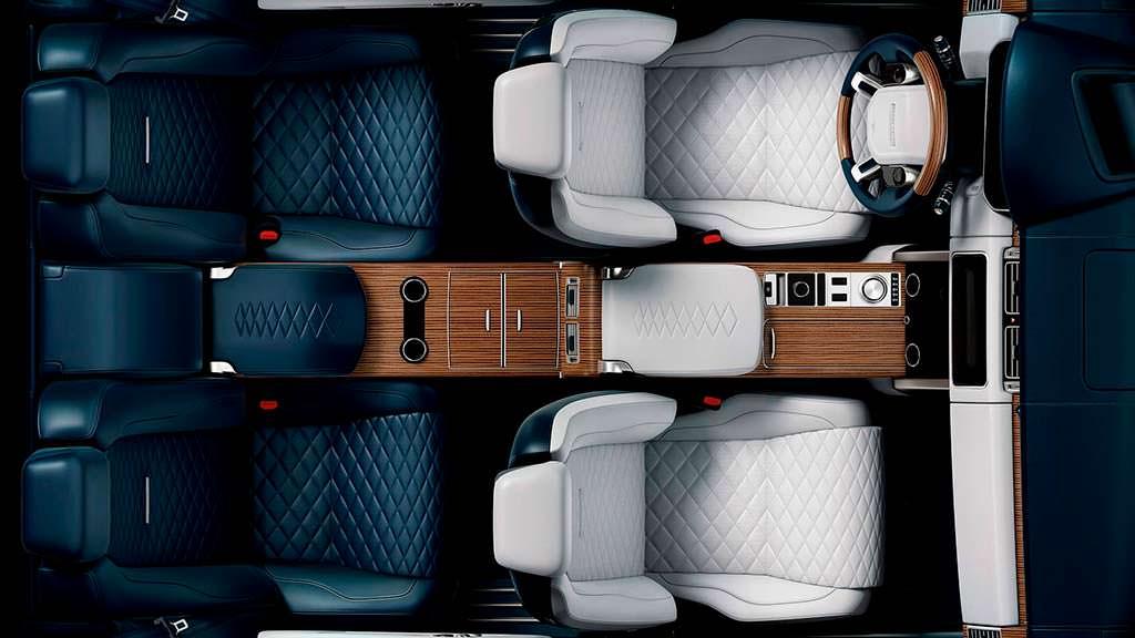 Фото внутри Range Rover SV Coupe