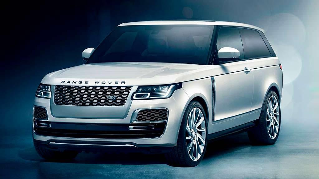 Стильный внедорожник Range Rover SV Coupe