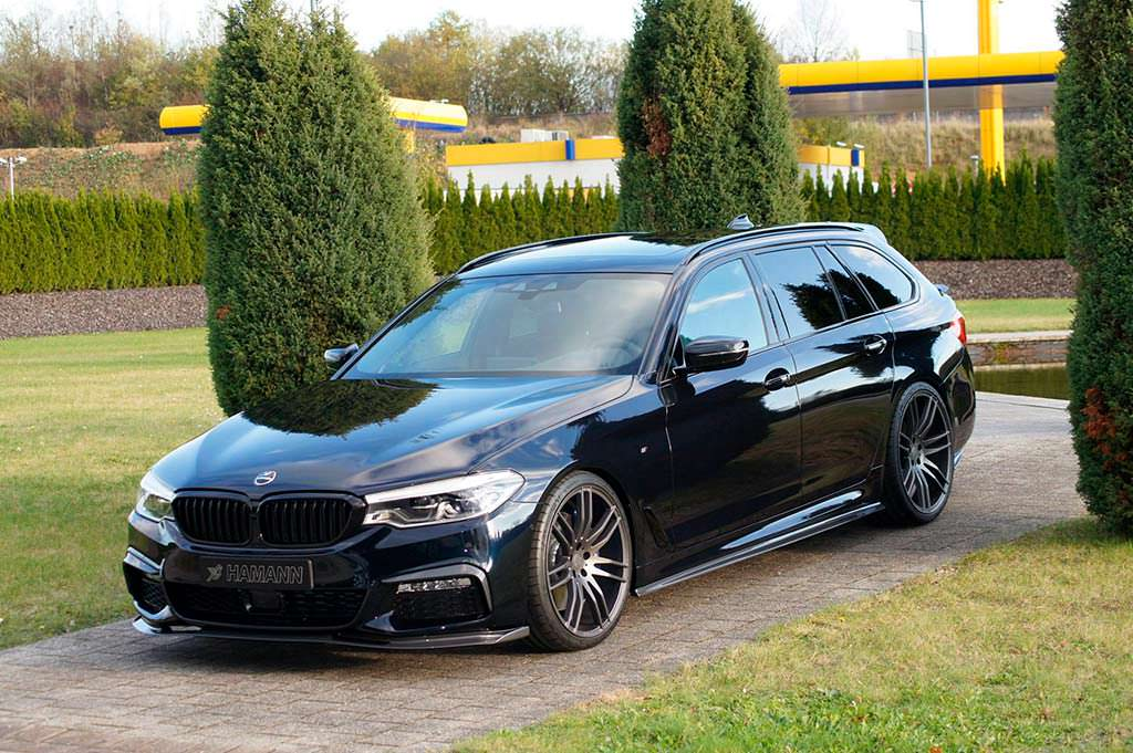 BMW 5-Series Touring на 21-дюймовых дисках от Hamann