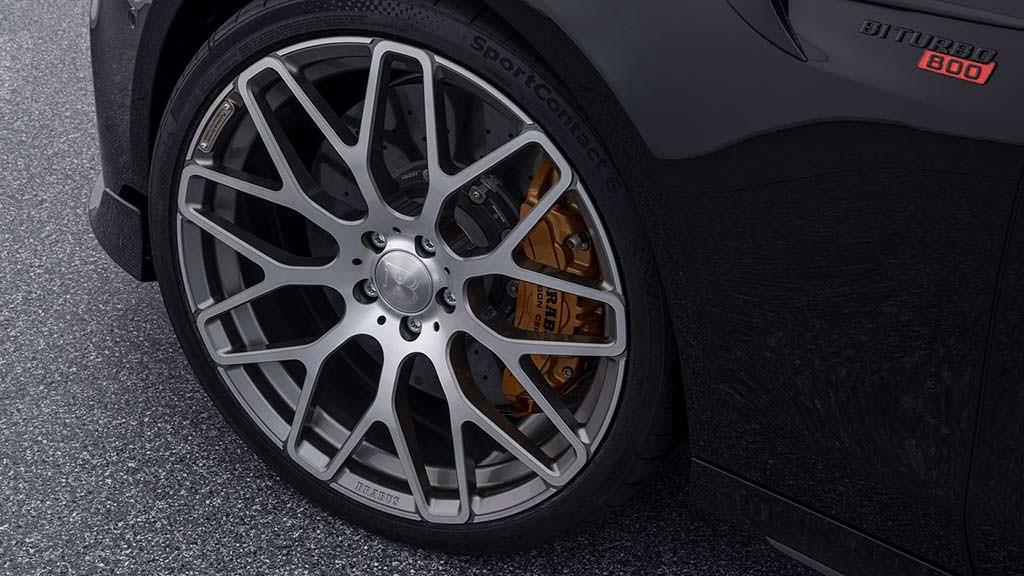 21-дюймовые колёсные диски Mercedes-AMG E63 S от Brabus