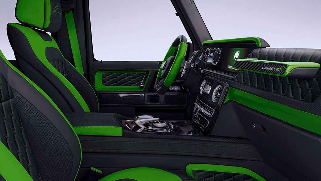 Интерьер Mercedes-AMG G63. Тюнинг от Lumma Design