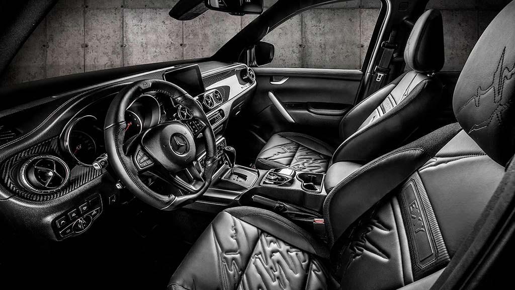 Фото салона Mercedes-Benz X-Class Off-Road. Тюнинг Carlex Design