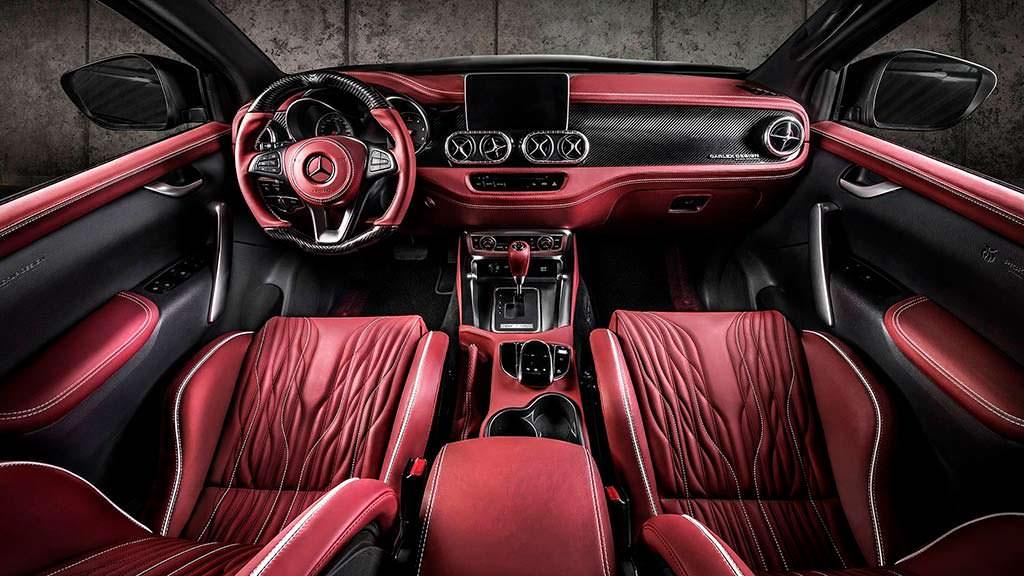 Фото салона Mercedes-Benz X-Class Urban. Тюнинг Carlex Design