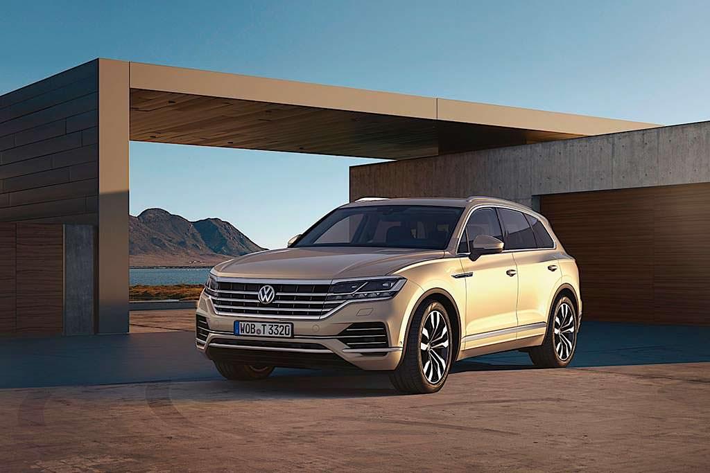Новый Volkswagen Touareg 2019 года