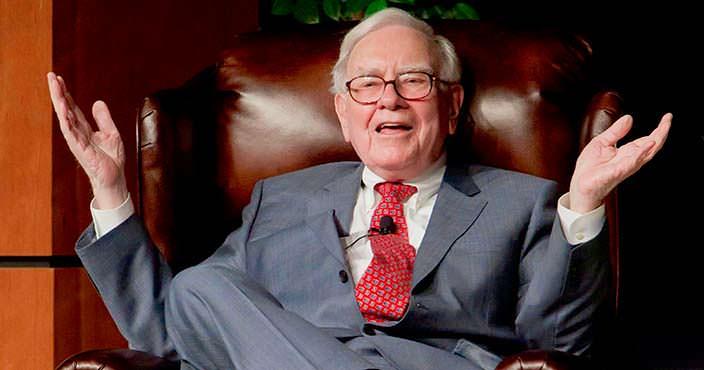 Уоррен Баффетт - председатель Berkshire Hathaway