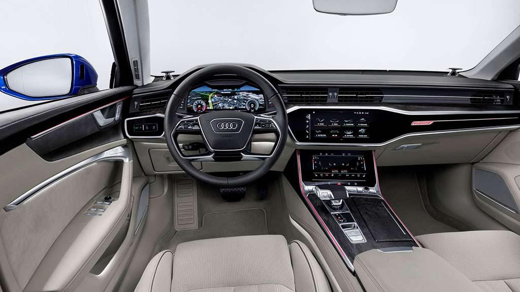 Салон Audi A6 Avant 2019