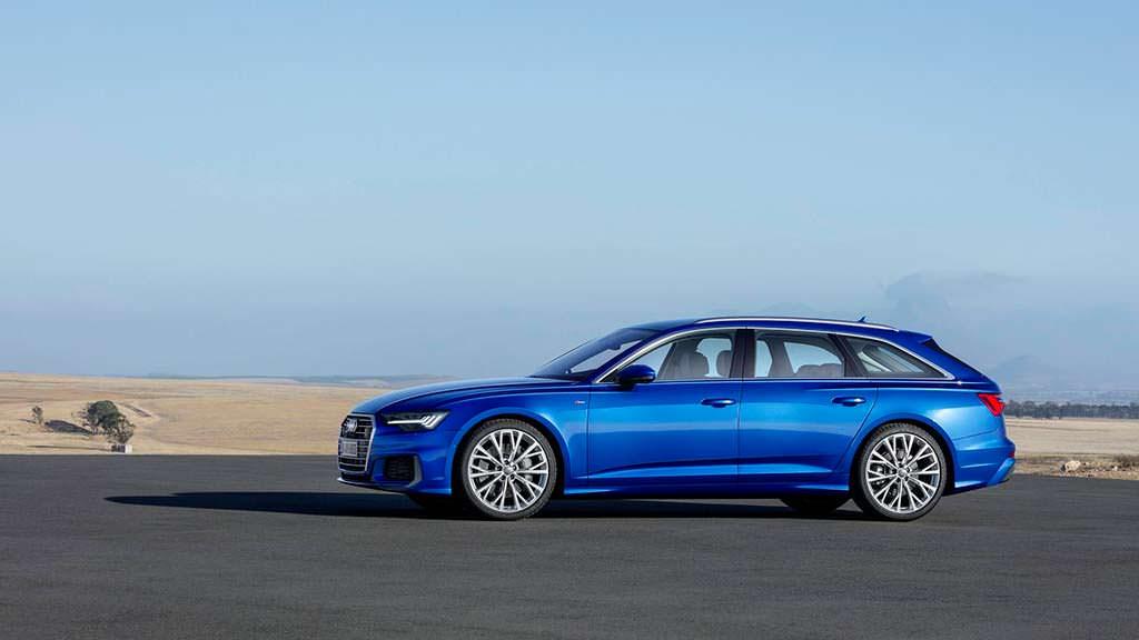 Новая Audi A6 Avant