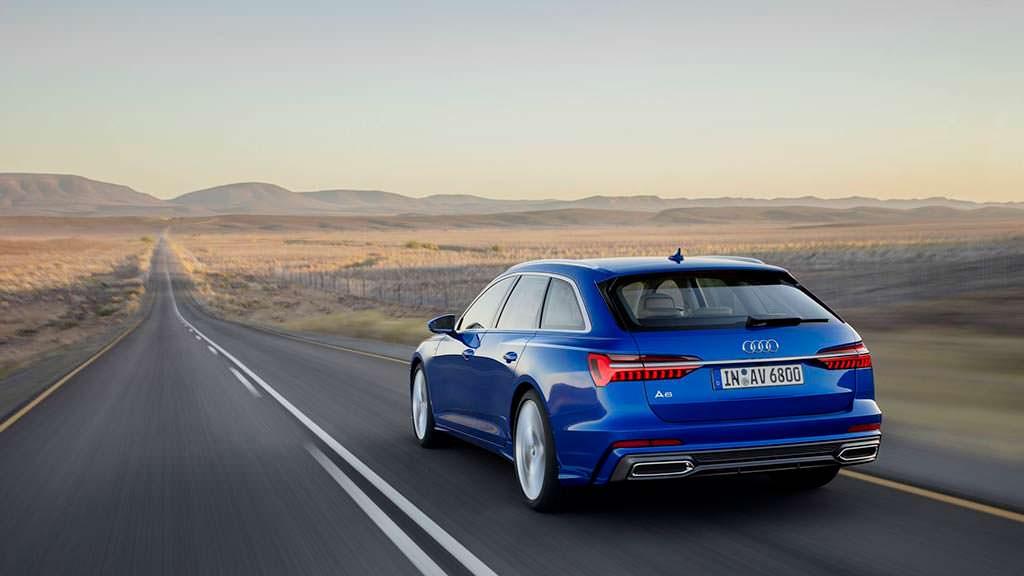 Новое поколение Audi A6 Avant