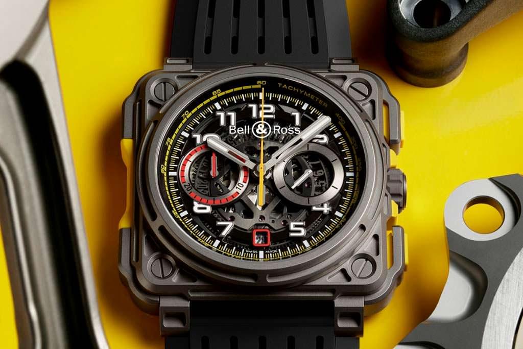 Эксклюзивные автомобильные часы Bell & Ross RS18