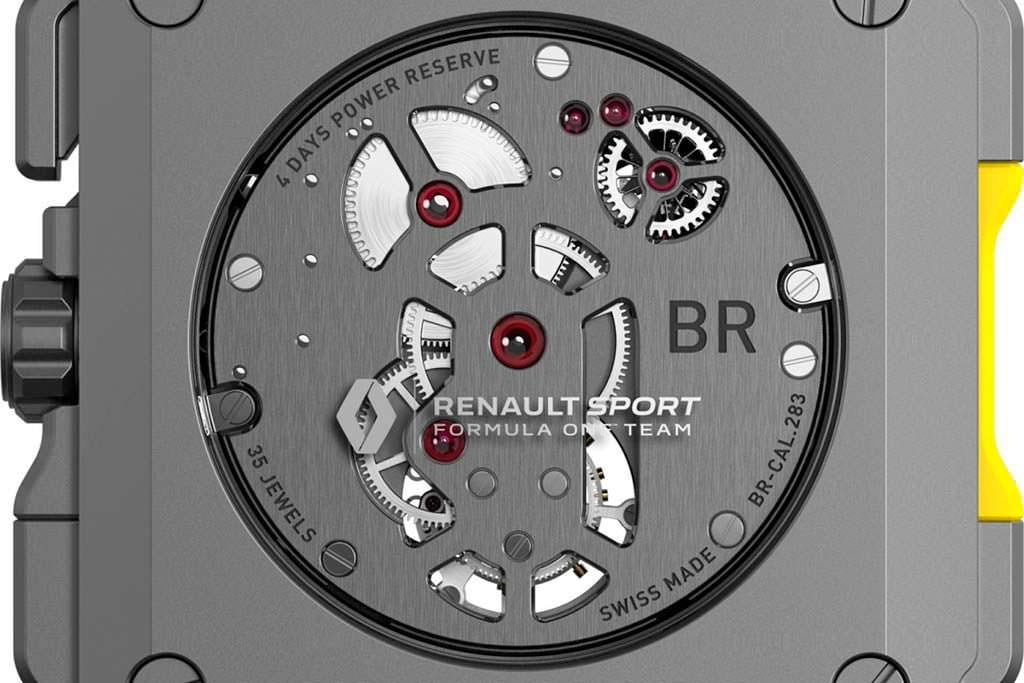 Часовой механизм Bell & Ross BR-CAL.283