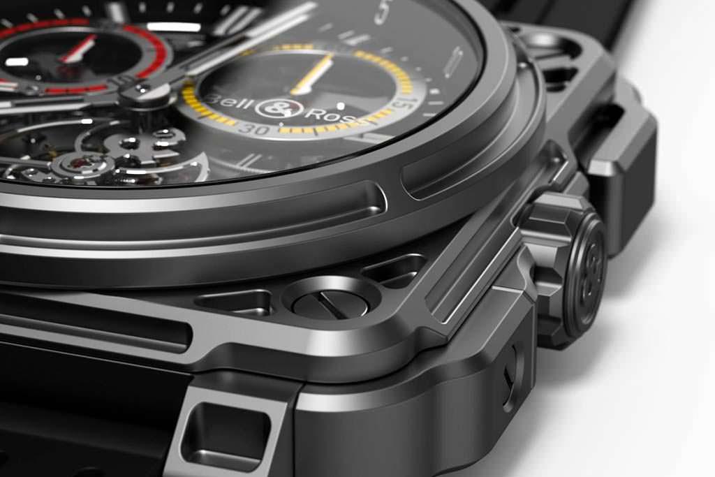 Титановые часы Bell & Ross RS18