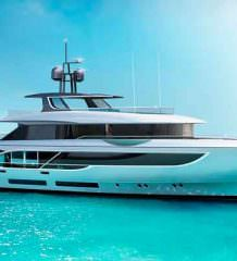 Benetti и RWD показали концепт яхты Oasis 135 | фото