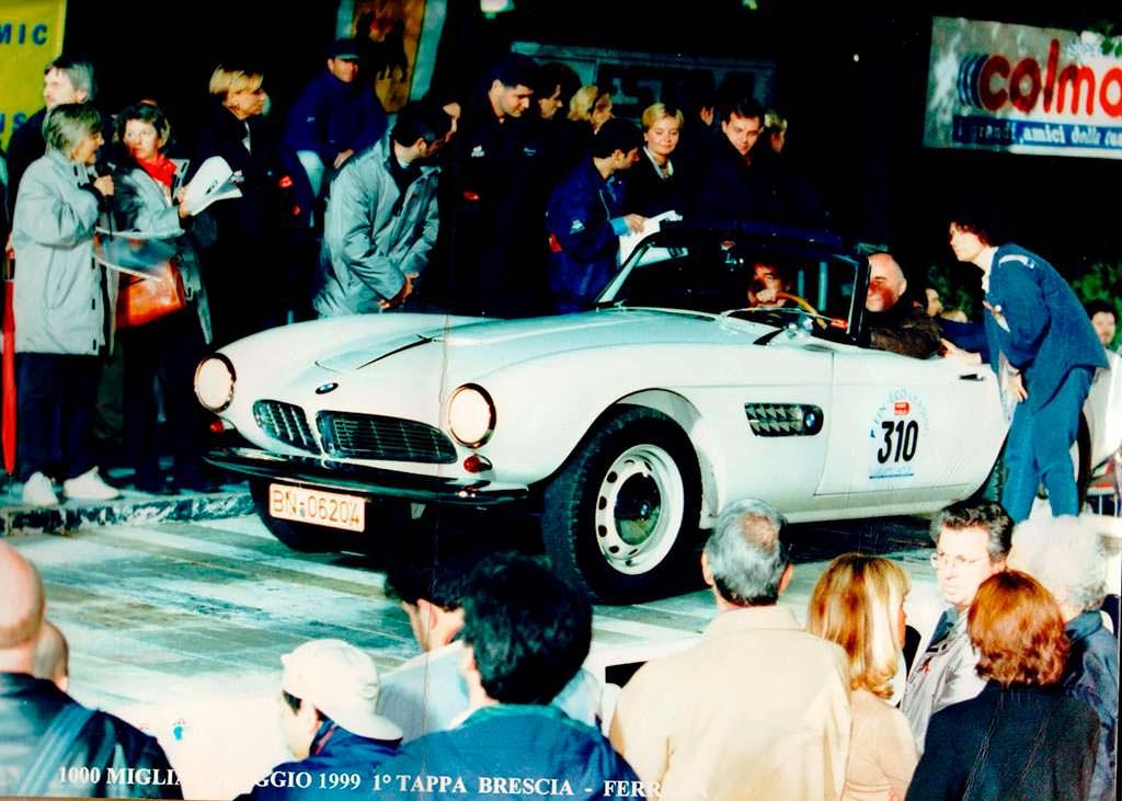 BMW 507 - автомобиль последнего короля Греции Константина II
