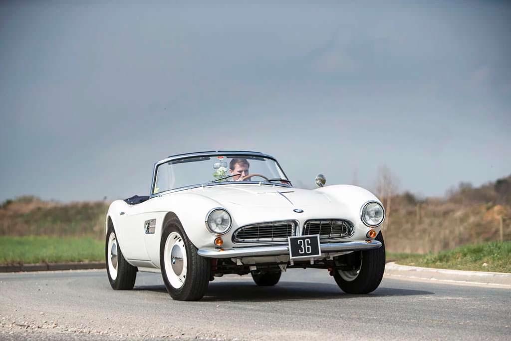 Родстер BMW 507 с королевской родословной