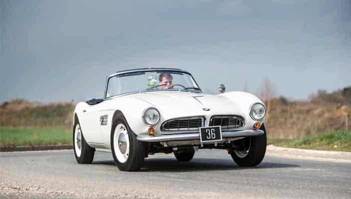 Продается автомобиль последнего короля Греции, BMW 507 | фото