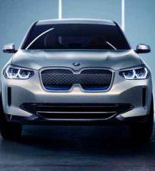 BMW сделала свой первый электро-кроссовер из X3 | фото, видео