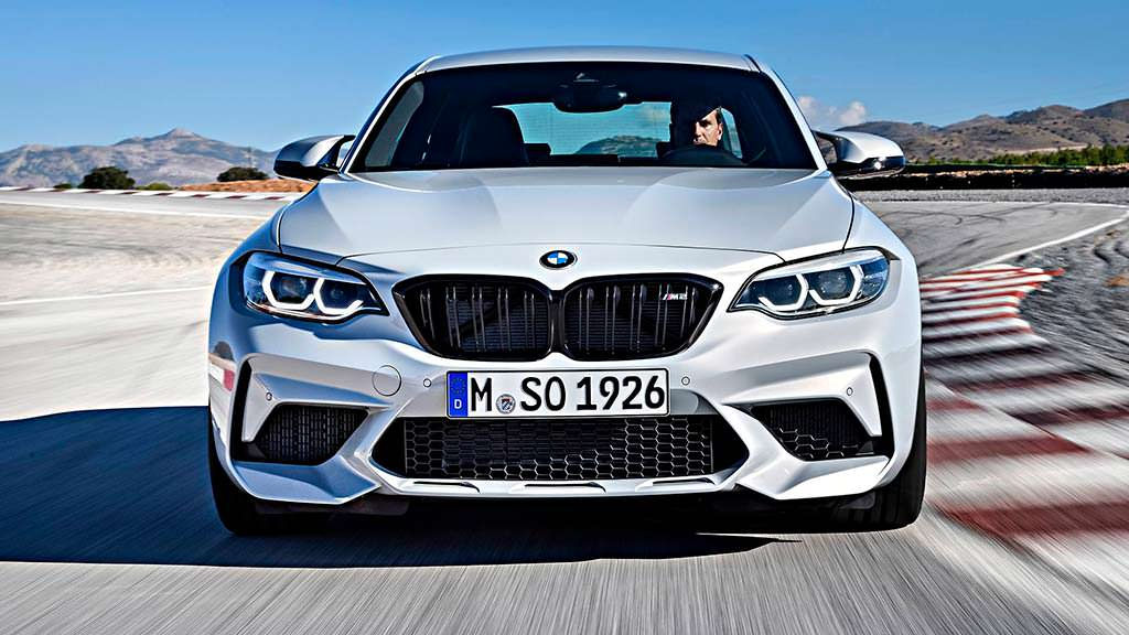 Спортивное купе BMW M2 Competition 2019