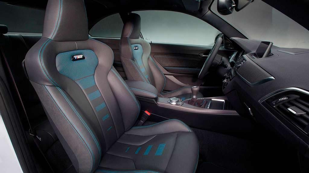 Спортивные сиденья BMW M2 Competition
