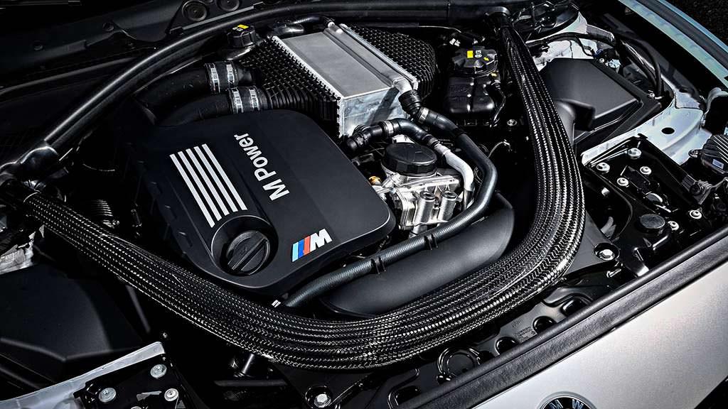 BMW M2 Competition: двигатель 3,6-литра мощность 405 л.с.