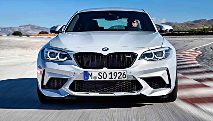Спортивное купе BMW M2 Competition 2019 официально | фото