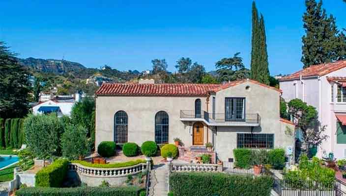 Эллен Помпео продает дом в средиземноморском стиле | фото, цена