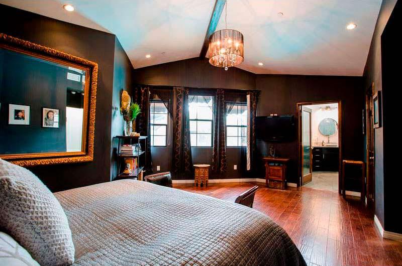 Дизайн мастер-спальни в бунгало