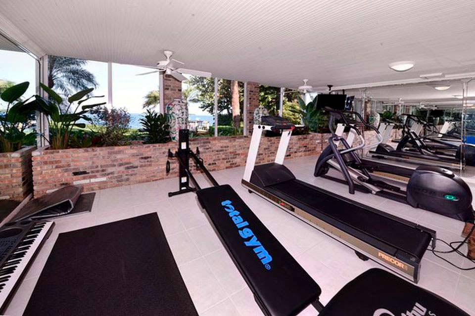 Собственный фитнес-центр в доме
