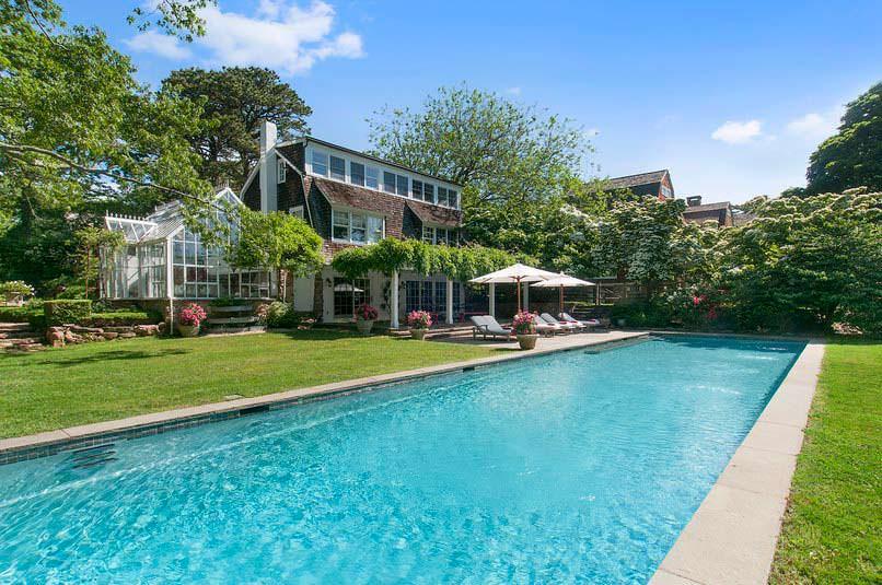 Дом с бассейном супермодели Кристи Бринкли