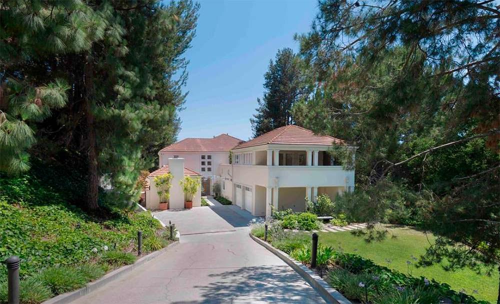 Дом актрисы Кристин Дэвис в Лос-Анджелесе