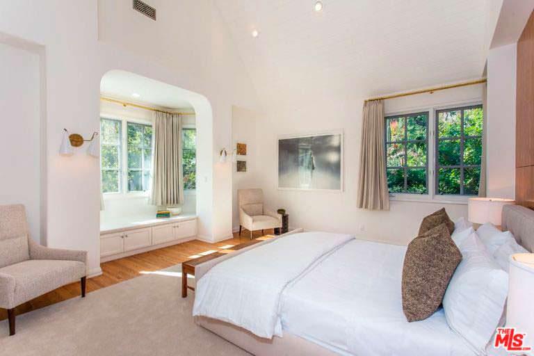 Спальня в доме Леонардо Ди Каприо