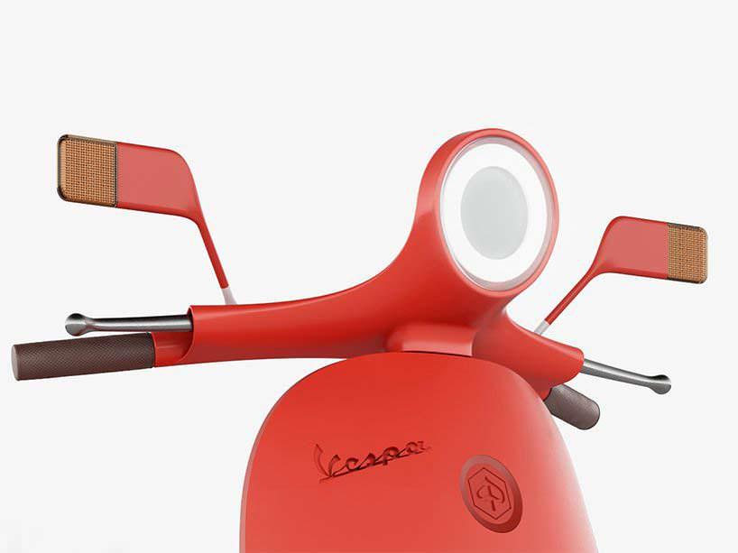 Светодиодный фонарь в классическом дизайне как у Vespa 98cc
