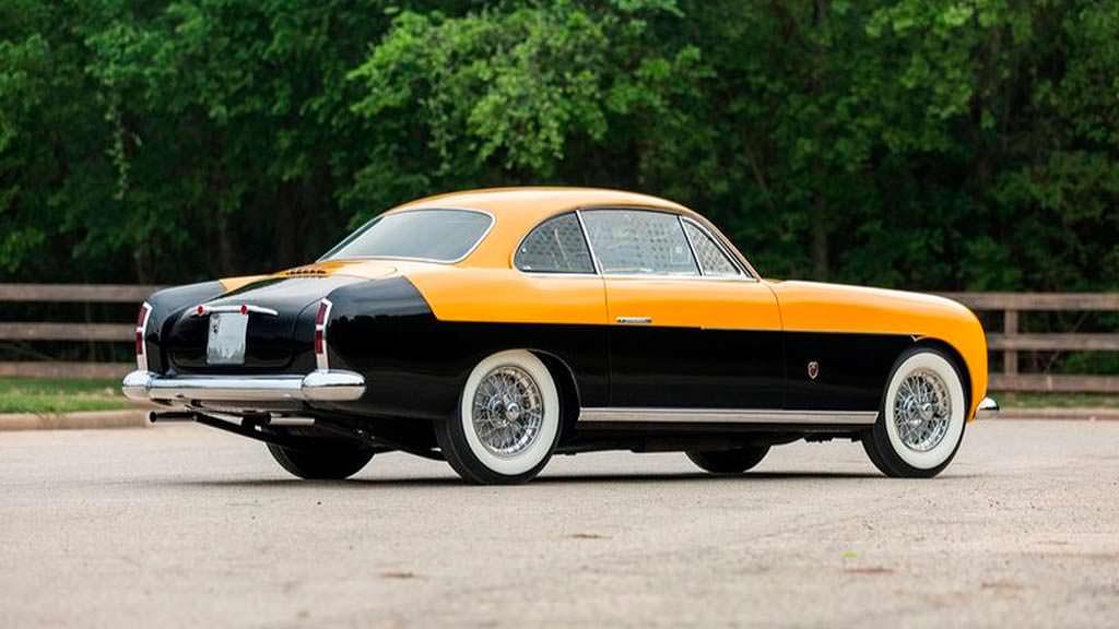 Редкая Ferrari 212 Inter 1952 года выпуска