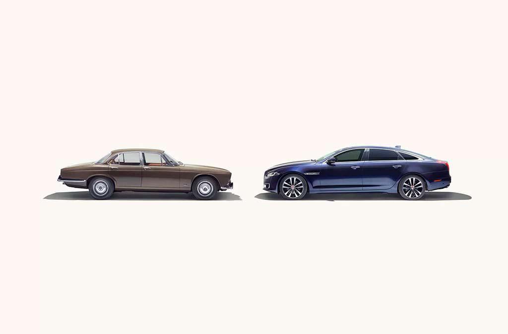 Первый Jaguar XJ 1968 года и последний 2018-го