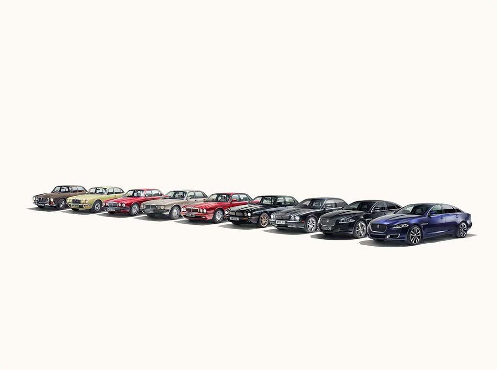 История Jaguar XJ с 1968 по 2018 годы