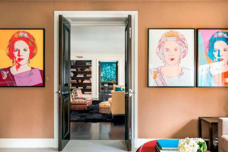 Дизайн интерьера квартиры на Манхэттене