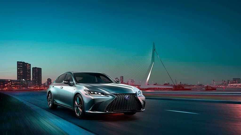 Lexus ES нового поколения
