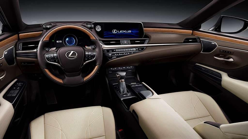 Фото салона Lexus ES