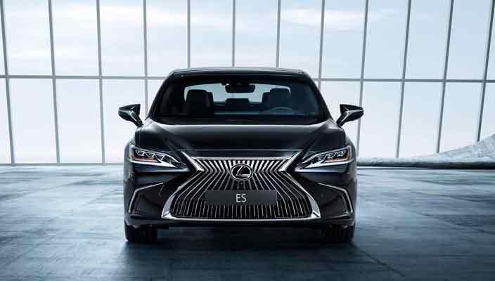 Lexus ES нового поколения официально в Пекине | фото, инфо