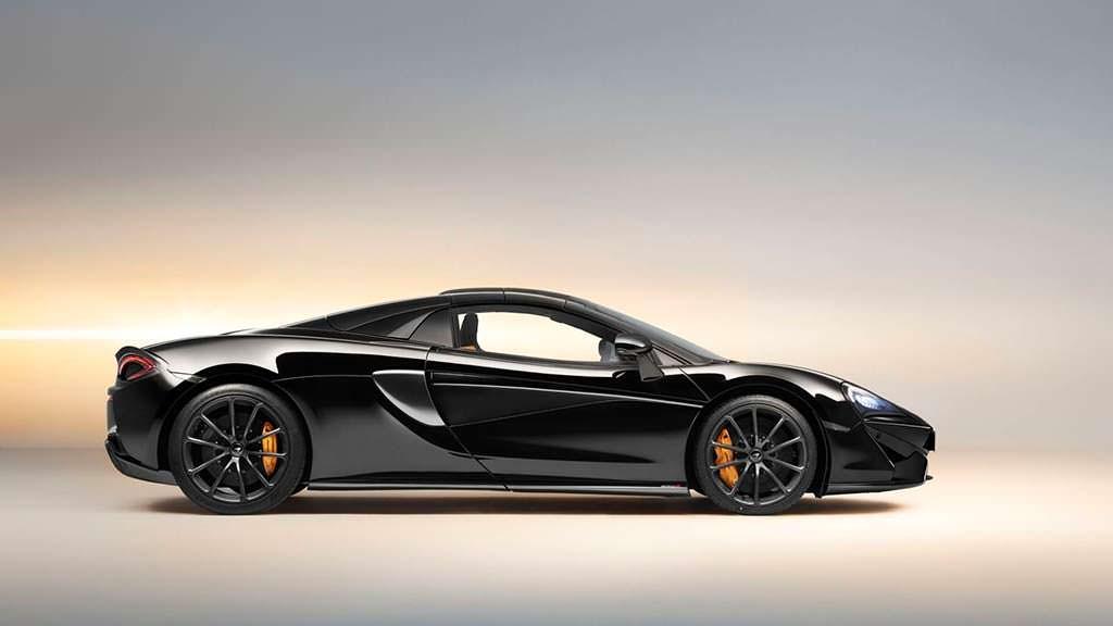 Жесткий съемный верх McLaren 570S Spider Design Edition