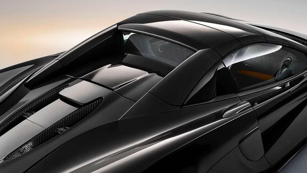 McLaren 570S Spider Onyx Black