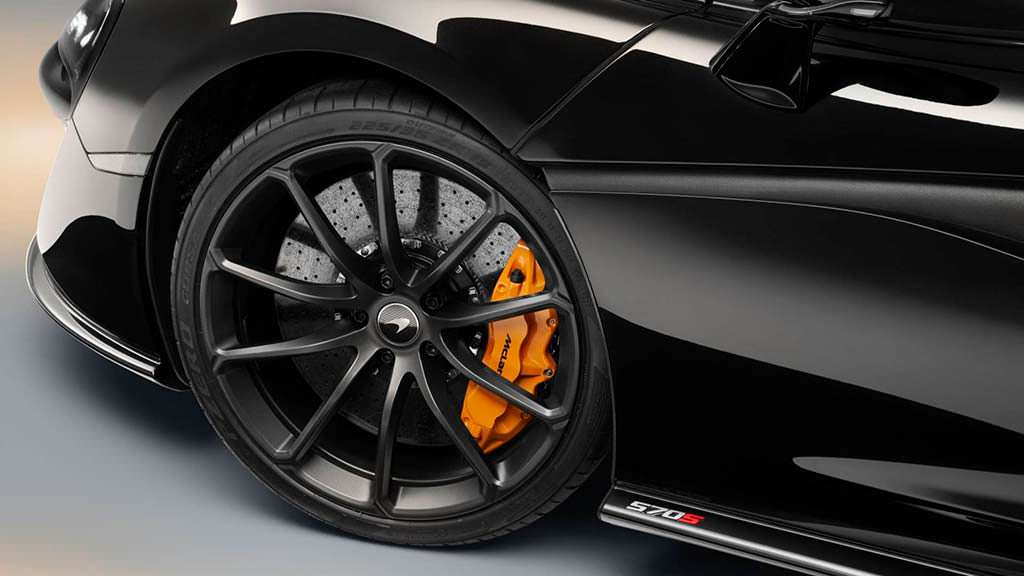 Десятиспицевые колеса McLaren 570S Spider Design Edition