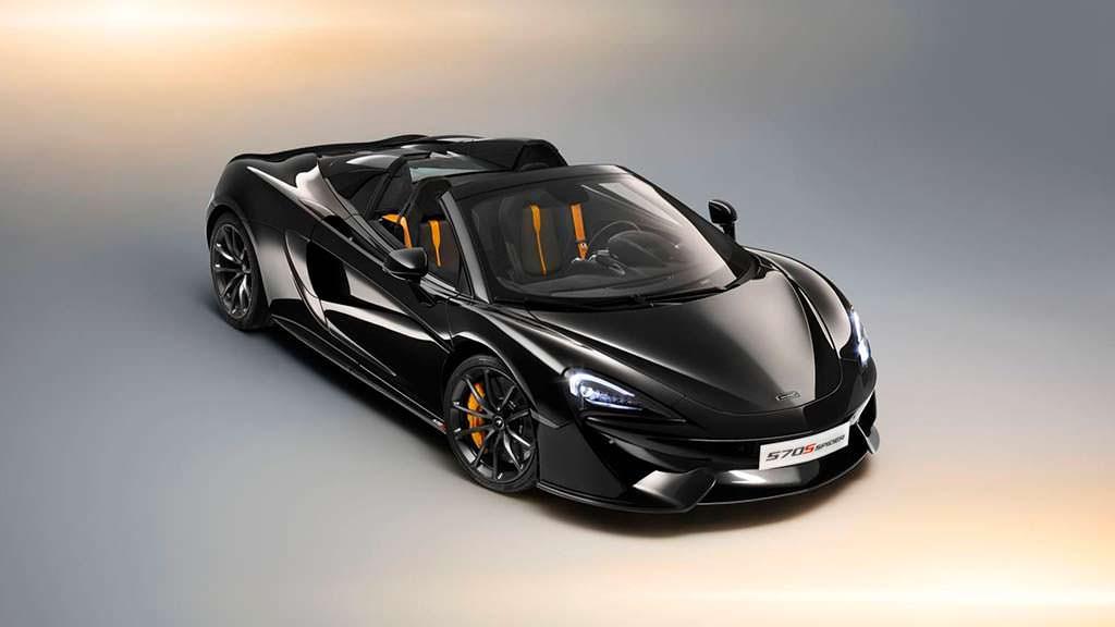 Спецверсия McLaren 570S Spider Design Edition