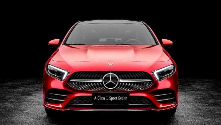 Создан Mercedes A-Class Sedan специально для Китая | фото