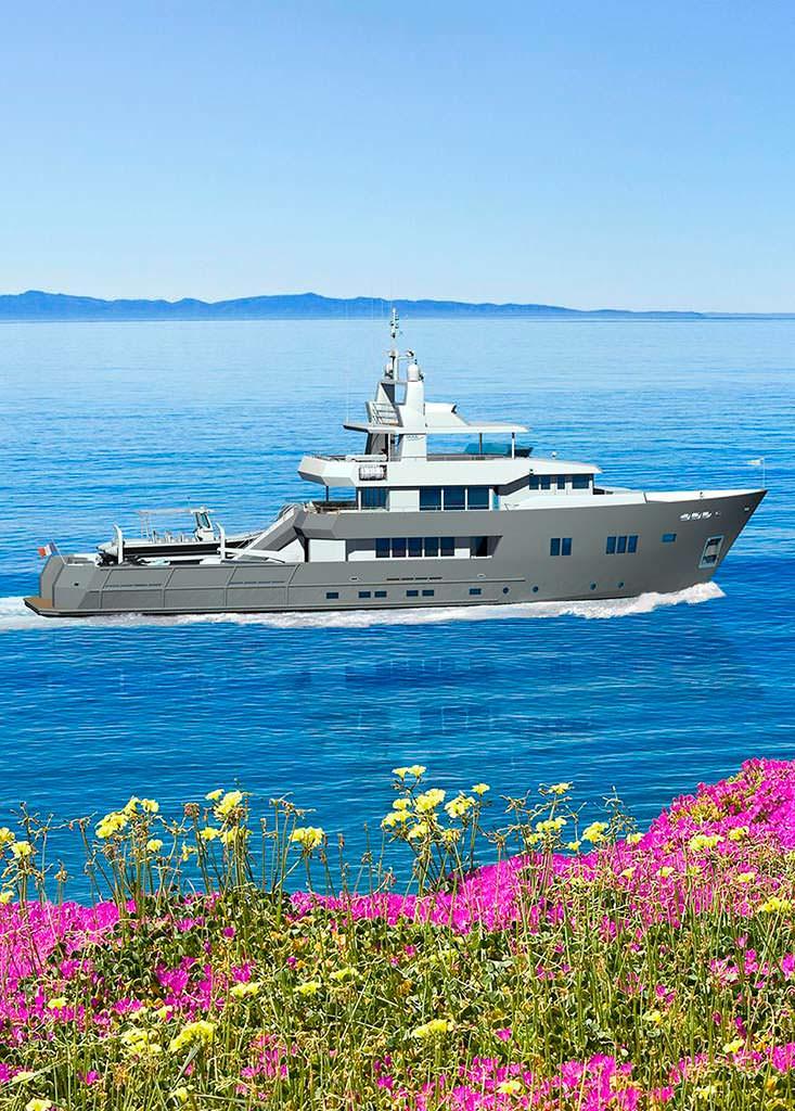 Концепт яхты Ocea Yachts 125XP