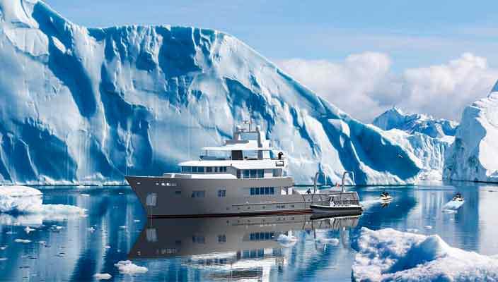 Французская верфь Ocea Yachts показала концепт 125XP | фото