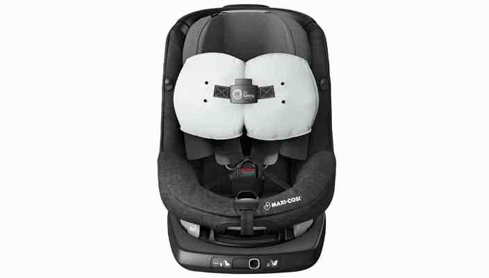 Вышло первое в мире детское автокресло с подушкой безопасности